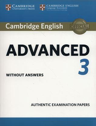 Εικόνα της CAMBRIDGE ENGLISH ADVANCED 3 SB WO/A