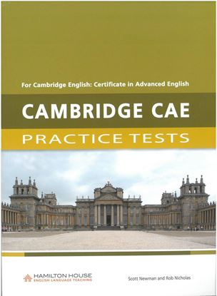 Εικόνα της CAMBRIDGE CAE PRACTICE TESTS SB