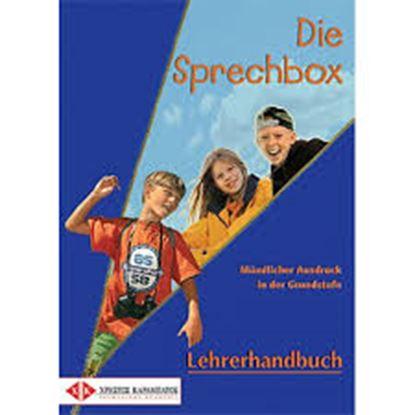 Εικόνα της DIE SPRECHBOX LEHRERHANDBUCH (MUENDLICHER AUSDRUCK IN DER GRUNDSTUFE)