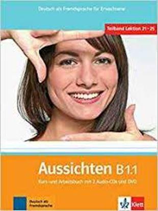 Εικόνα της AUSSICHTEN B1.1 KURSBUCH & ARBEITSBUCH (+ CD + DVD)