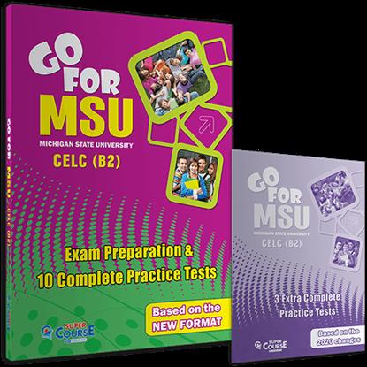 Εικόνα της GO FOR MSU CELC (B2) 10 COMPLETE PRACTICE TESTS SB