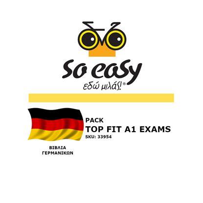 Εικόνα της SO EASY ΓΕΡΜΑΝΙΚΑ TOP FIT A1 EXAMS