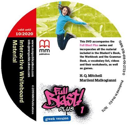 Εικόνα της FULL BLAST PLUS 1 IWB DVD GREEK