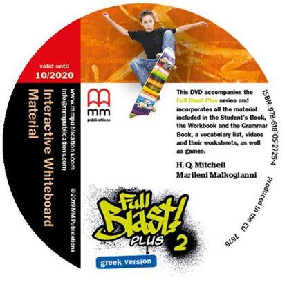 Εικόνα της FULL BLAST PLUS 2 IWB DVD GREEK