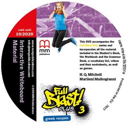 Εικόνα της FULL BLAST PLUS 3 IWB DVD GREEK