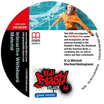 Εικόνα της FULL BLAST PLUS 4 IWB DVD GREEK