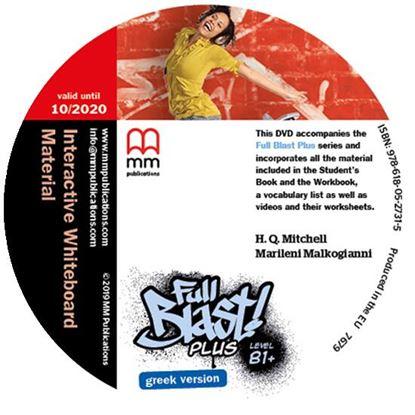 Εικόνα της FULL BLAST PLUS B1+ IWB DVD GREEK