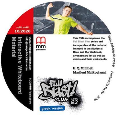 Εικόνα της FULL BLAST PLUS B2 IWB DVD GREEK