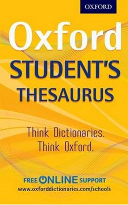 Εικόνα της OXFORD STUDENT'S THESAURUS DICTIONARY N/E PB