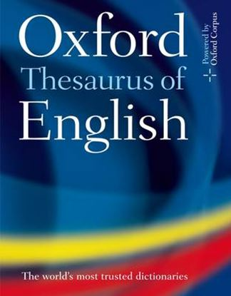 Εικόνα της OXFORD THESAURUS OF ENGLISH HC