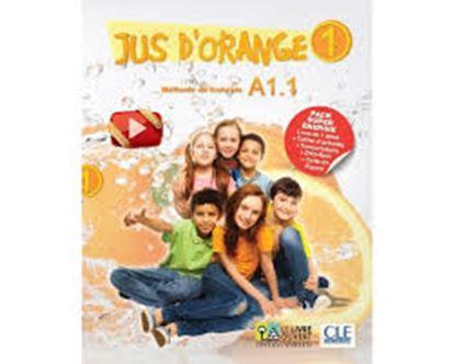 Εικόνα της JUS D'ORANGE 1 (A1.1) (LIVRE DE L' ELEVE+CAHIER ACTIVITES+TRANSCRIPTIONS+DVD-ROM+CARTE DE FRANCE), METHODE DE FRANCAIS