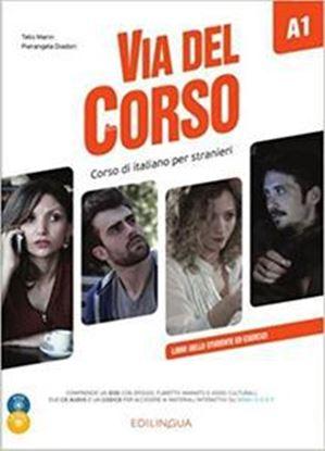 Εικόνα της VIA DEL CORSO A1 STUDENTE ED ESERCIZI (+ CD + DVD)