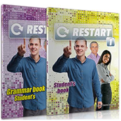 Εικόνα της RESTART 1 ΠΑΚΕΤΟ SB PACK (SB + GRAMMAR + CD AUDIO MP3 + GLOSSARY