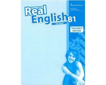 Εικόνα της REAL ENGLISH B1 TCHR'S TEST