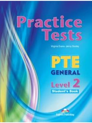 Εικόνα της PTE GENERAL 2 B1 PRACTICE TESTS SB (+ DIGIBOOKS APP)