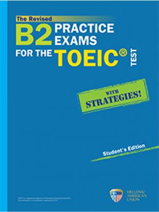 Εικόνα της THE REVISED B2 PRACTICE EXAMS FOR THE TOEIC SB