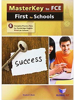 Εικόνα της MASTERKEY TO FCE FIRST FOR SCHOOLS PRACTICE TESTS SB