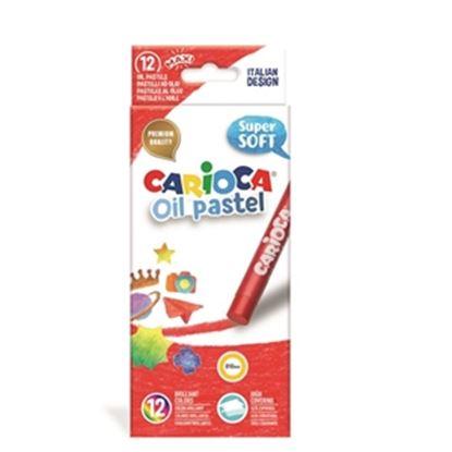 Εικόνα της CARIOCA OIL PASTEL 12 ΧΡΩΜΑΤΩΝ 43277