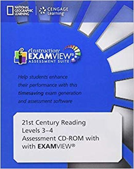 Εικόνα από 21st Century Reading Level 1 Assessment CD-ROM with ExamView_ -- Levels 1 & 2