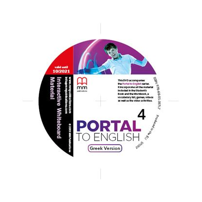 Εικόνα της DVD Interactive Whiteboard Material PORTAL TO ENGLISH 4