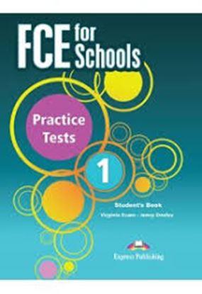 Εικόνα της FCE FOR SCHOOLS 1 PRACTISE TESTS SB +DIGIBOOKS