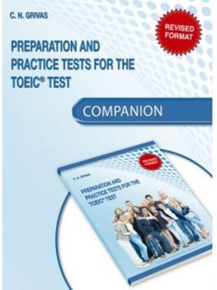 Εικόνα της PREPARATION & PRACTICE TOEIC TESTS COMPANION