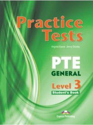 Εικόνα της PTE GENERAL 3 B2 PRACTICE TESTS SB (+ DIGIBOOKS APP)