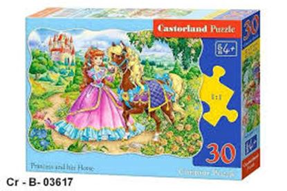 Εικόνα της PUZZLE PRINCESS AND HER HORSE 30T