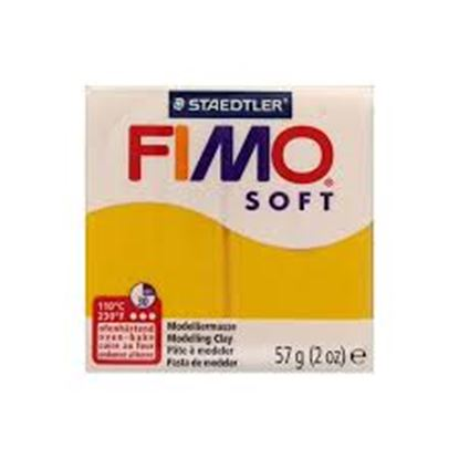 Εικόνα της ΠΗΛΟΣ fimo soft sunflower 8020-16 57gr Staedtler