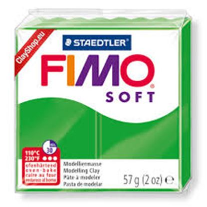 Εικόνα της ΠΗΛΟΣ FIMO SOFT tropical green 8020-53 57gr Staedtler