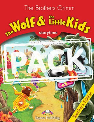 Εικόνα της THE WOLF AND THE LITTLE KIDS TEACHER'S PACK 3 (T'S + AUDIO CD)