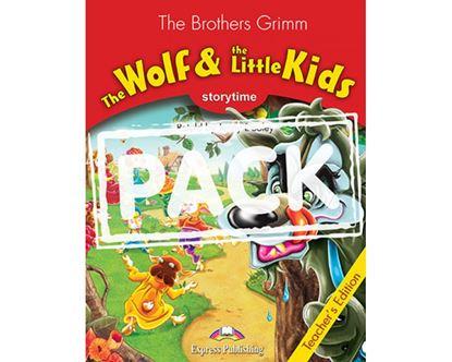 Εικόνα της THE WOLF AND THE LITTLE KIDS T'S PACK(WITH MULTI-ROM PAL) - FOR THCOMING