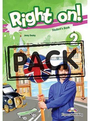Εικόνα της RIGHT ON ! 2 JUMBO PACK WITH ENGLISH GRAMMAR