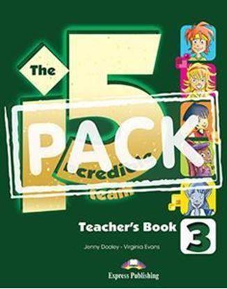 Εικόνα της INCREDIBLE 5 TEAM 3 TEACHER'S BOOK (+POSTER)