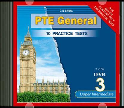 Εικόνα της PTE GENERAL LEVEL 3 10 PRACTICE TESTS CD