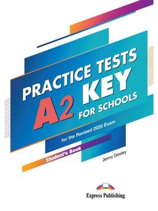 Εικόνα της PRACTICE TESTS A2 KEY FOR SCHOOLS PRACTICE TESTS SB (+ DIGIBOOKS APP) FOR THE REVISED 2020 EXAM