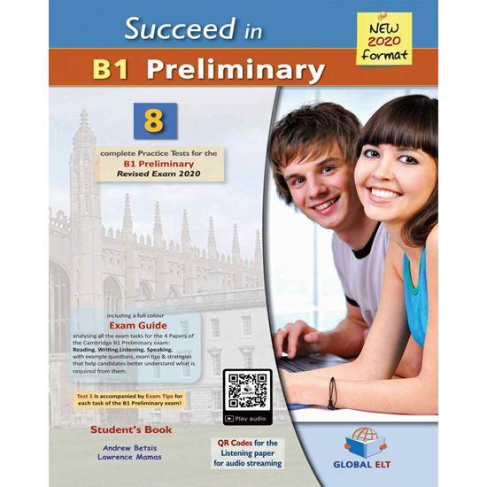 Εικόνα από SUCCEED IN B1 PRELIMINARY MP3/CD 2020 FORMAT