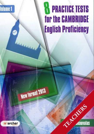 Εικόνα από CAMBRIDGE PROFICIENCY PRACTICE TESTS VOLUME 1 TCHR'S