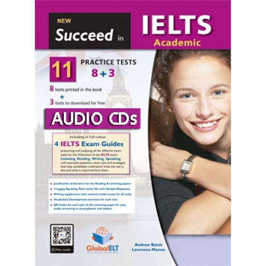 Εικόνα από SUCCEED IN IELTS new 8+3 MP3/CD