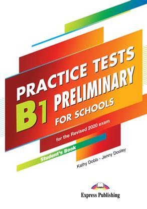 Εικόνα της PRACTICE TESTS B1 PRELIMINARY FOR SCHOOLS SB (+ DIGIBOOKS APP) FOR THE REVISED 2020 EXAM
