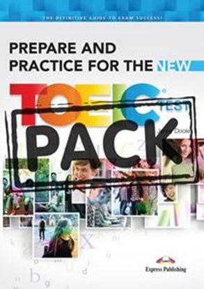 Εικόνα της PREPARE AND PRACTICE FOR THE NEW TOEIC TEST STUDENT'S PACK (+KEY+CDs)