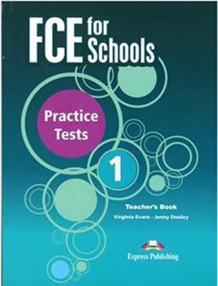 Εικόνα της FCE FOR SCHOOLS 1 PRACTICE TESTS TCHR'S (+ DIGIBOOKS APP) 2015 N/E