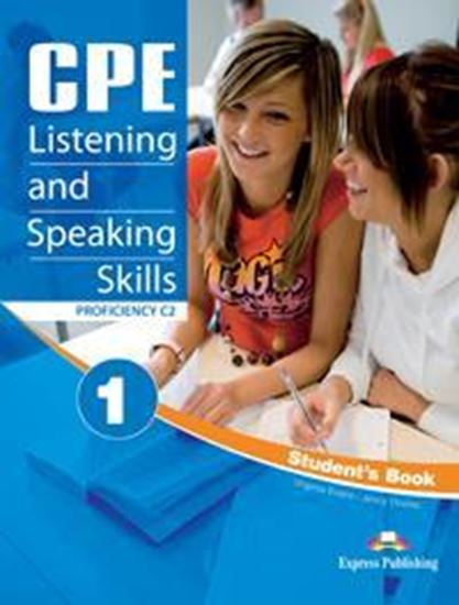 Εικόνα από CPE LISTENING & SPEAKING SKILLS 1 STUDENT'S BOOK (+DIGIBOOK)