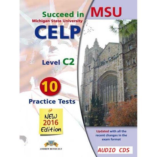 Εικόνα από SUCCEED IN MSU-CELP C2 MP3/CD 2016 10 TESTS