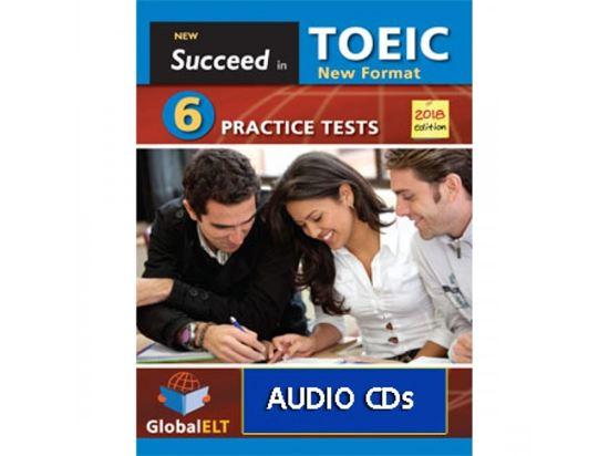 Εικόνα από SUCCEED IN TOEIC NEW 2018 6 TEST CDs