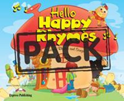 Εικόνα της HELLO HAPPY RHYMES PUPIL'S PACK 2 (CD& DVD PAL)