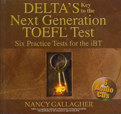 Εικόνα της DELTA-TOEFL iBT (6) PRACT.TESTS CDS (6)