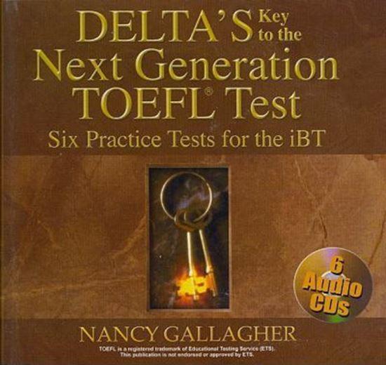 Εικόνα από DELTA-TOEFL iBT (6) PRACT.TESTS CDS (6)