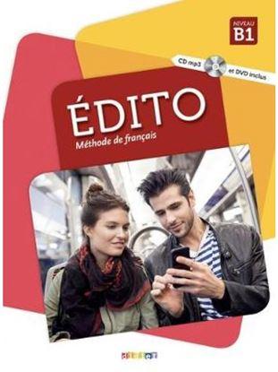 Εικόνα της EDITO B1 METHODE (+ CD + DVD) N/E