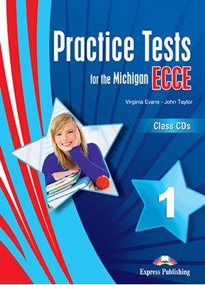 Εικόνα της PRACTICE TESTS FOR THE MICHIGAN ECCE 1 for the Revised 2021 Exam  CLASS CD'S (SET OF 3)